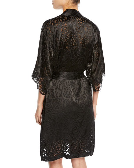 Lise Charmel Dressing Solaire Floral Lace Robe