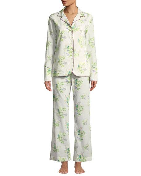 La Costa Del Algodon Felicia Two-Piece Classic Pajama Set