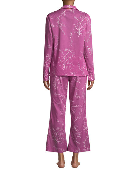 La Costa Del Algodon Dora Two-Piece Classic Pajama Set