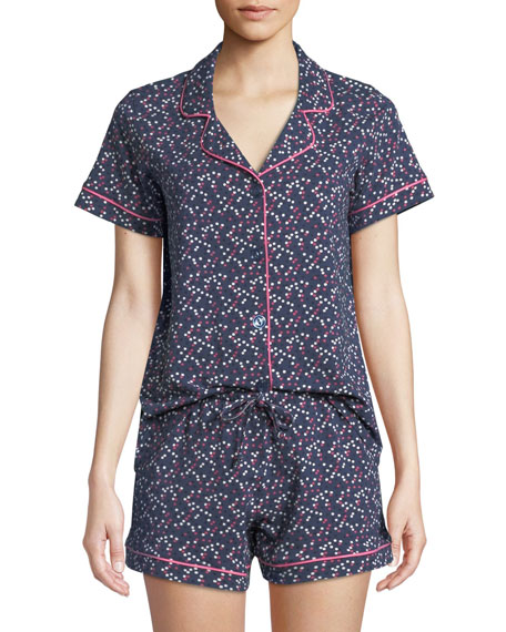 Bedhead CONFETTI TWO-PIECE SHORTY PAJAMA SET