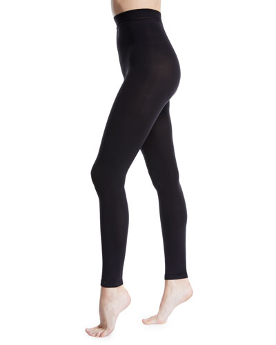 Matte Jersey Footless Tights