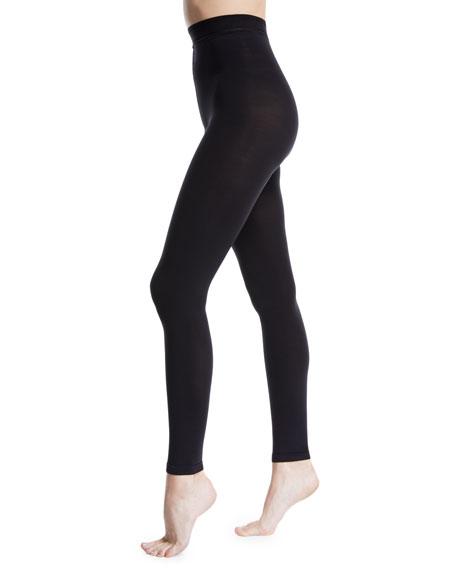 Donna Karan Matte Jersey Footless Tights