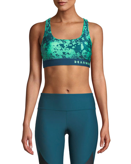 Under Armour Armour Mid-Impact Crossback Sports Bra