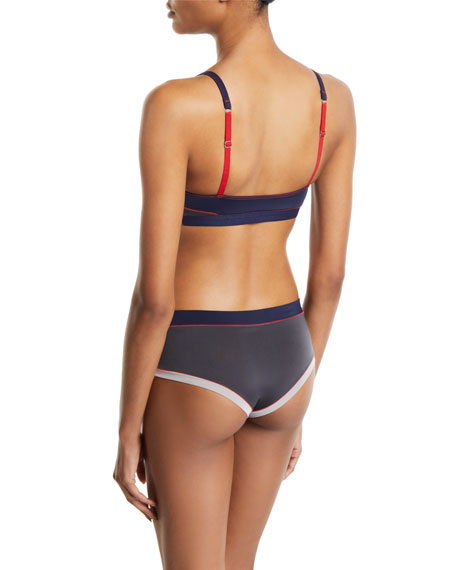 Xirena Gisele Abstract Soft-Cup Bra