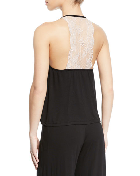 Cosabella Glamour Lace-Back PJ Camisole
