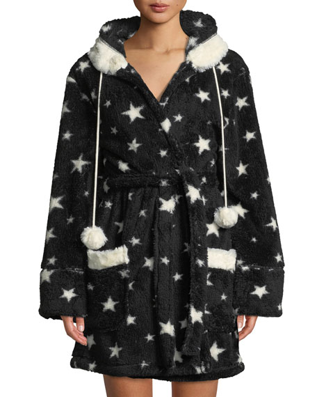 Pj Salvage DREAMER HOODED SHORT ROBE