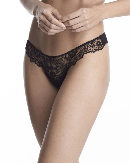 I.d. Sarrieri HOLLYWOOD DREAM TULLE THONG