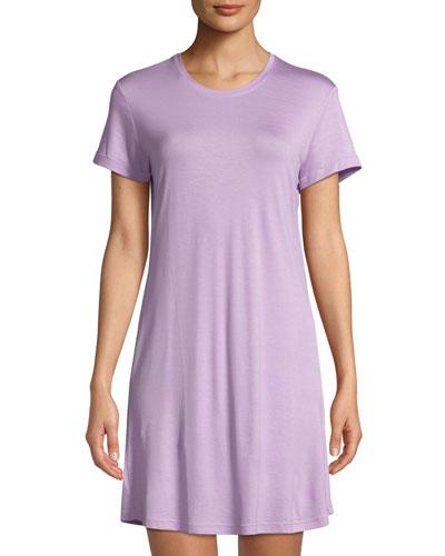 Carla Short-Sleeve Sleep Shirt