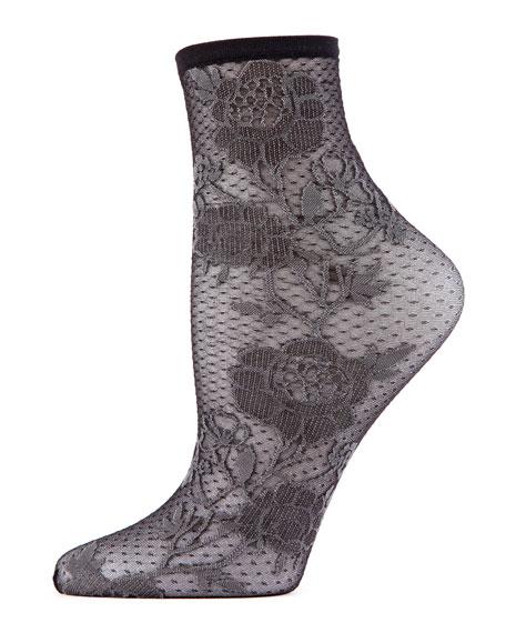 Natori Chantilly Lace Socks