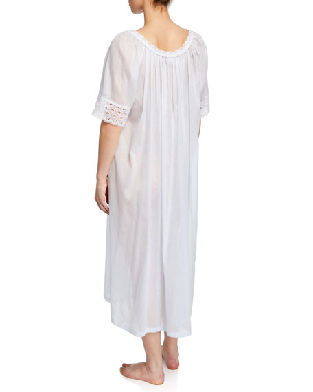 Celestine Tonight Scoop-Neck Short-Sleeve Nightgown
