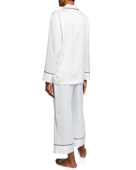 Natori Feathers Satin Essentials Pajama Set