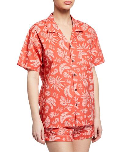 Fruit Shorty Pajama Set