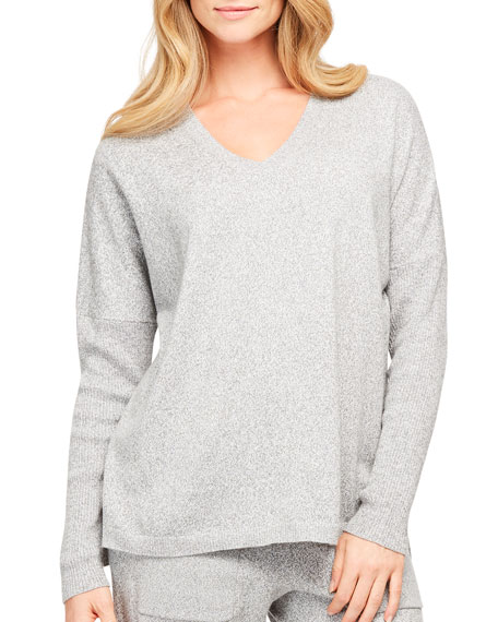 Fleur't Cosmopolitan Luxury V-Neck Sweater
