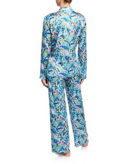 Derek Rose Brindisi Two-Piece Classic Pajama Set