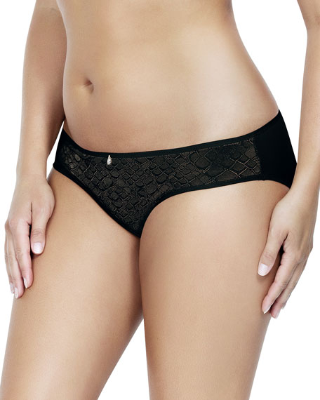 Parfait Enora Lace-Trim Bikini Briefs