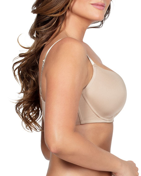 Parfait Emma Full-Figure Plunge Molded-Cup Bra, Bare