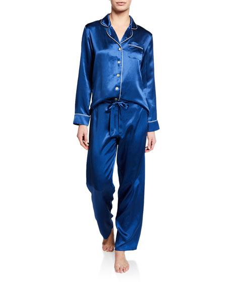 Ginia Fine Finishes Silk Pajama Set