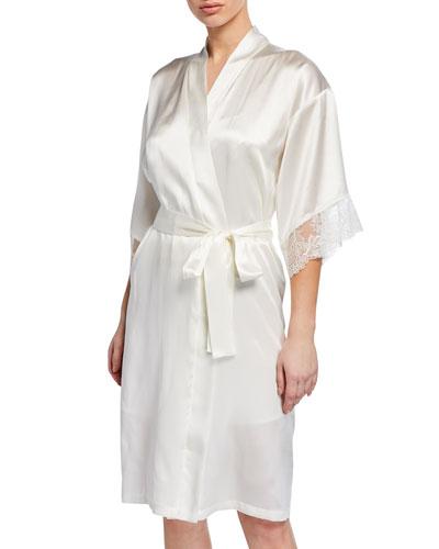 Virtouse Short Satin Robe