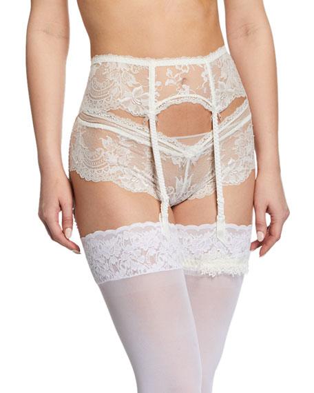 Lise Charmel Art Et Volupte Lace Suspender Belt