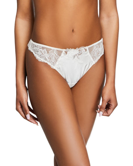 Lise Charmel Soie Virtuouse Lace Thong