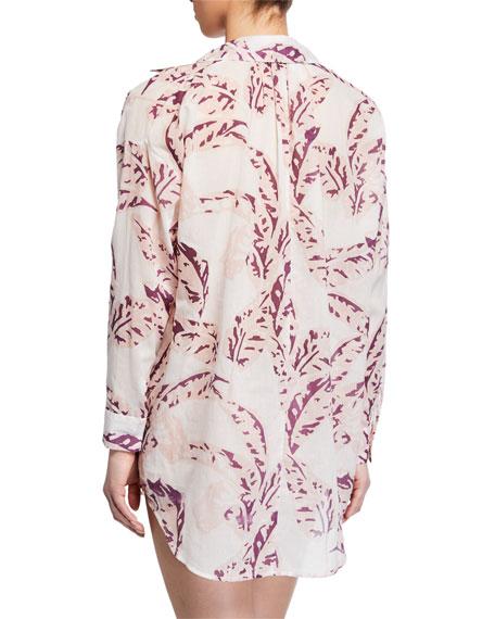Pour Les Femmes Juliet Banana Leaves Sleepshirt