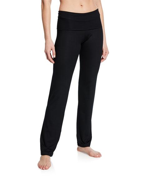 Zimmerli Pureness Fold-Over Lounge Pants