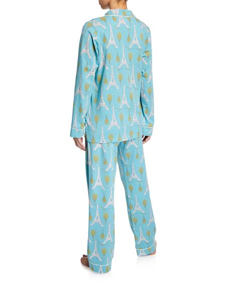 Bedhead Eiffel Bouquet Classic Pajama Set