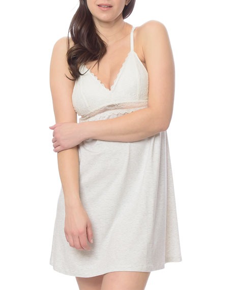 Lusome Kerry Lace-Trim Slip