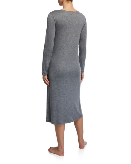 Hanro Fenja Long-Sleeve Nightgown