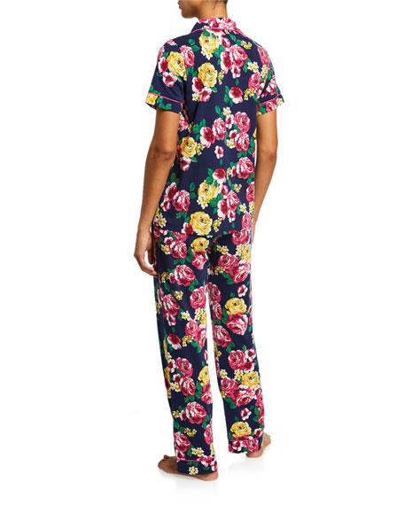 BedHead Pajamas Floral-Print Short-Sleeve Classic Pajama Set
