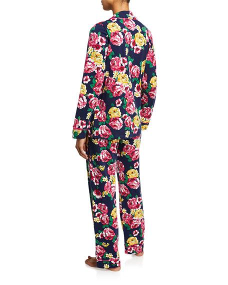 BedHead Pajamas Plus Size Floral-Print Classic Pajama Set