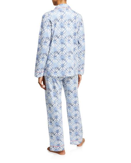 BedHead Pajamas Geometric-Print Classic Pajama Set