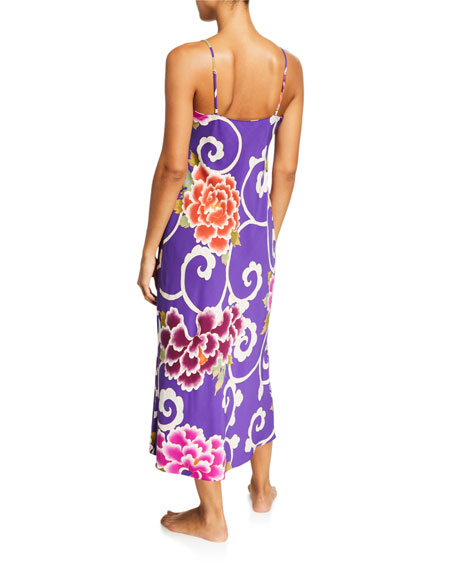 Image 2 of 2: Samarkand Floral-Print Nightgown