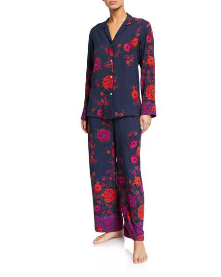 Natori Botanica Floral Classic Pajama Set