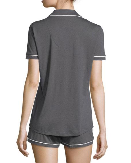 Cosabella Bella Short-Sleeve Boxer Pajama Set