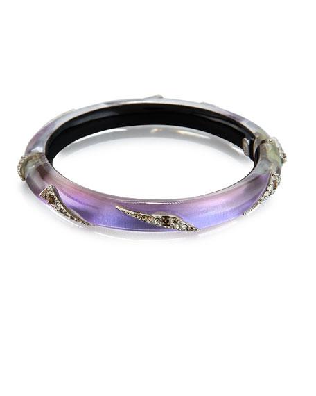 Origami Hinge Bracelet, Purple