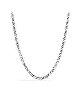 David Yurman Medium Wheat Chain Necklace with Gold