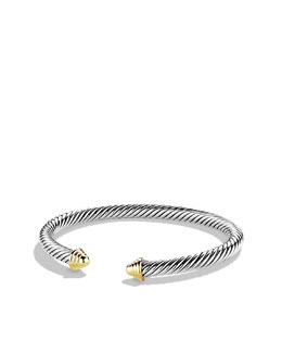 David Yurman Cable Classics Bracelet with Gold