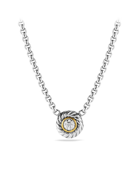 Color Classics Pendant with Diamond on Chain