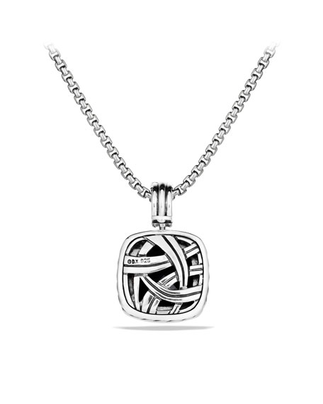 Albion Pendant with Black Onyx and Diamonds