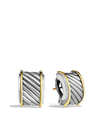 Cable Classics Cigar Band Earrings
