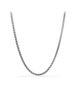 David Yurman Small Wheat Chain Necklace