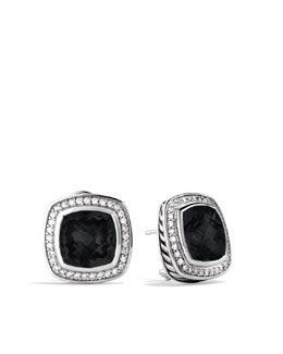 David Yurman Albion Earrings with Black Onyx and Diamonds