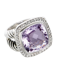 David Yurman 14mm Lavender Amethyst Albion Ring