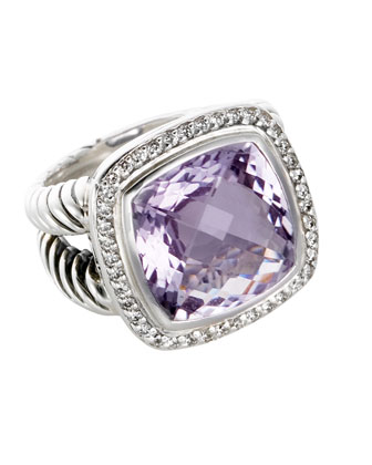 14mm Lavender Amethyst Albion Ring