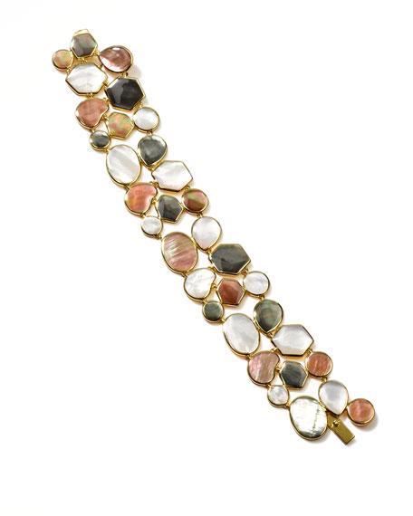 Ondine 18k Gold Hero Shell Bracelet, Sabbia