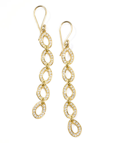Ippolita Stardust Open Oval Drop Earrings