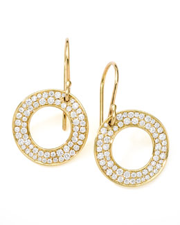 Ippolita Stardust Open Circle Drop Earrings