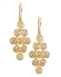 Ippolita Stardust Flower Cascade Diamond Earrings