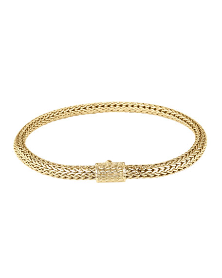 Extra Small Gold Chain Bracelet